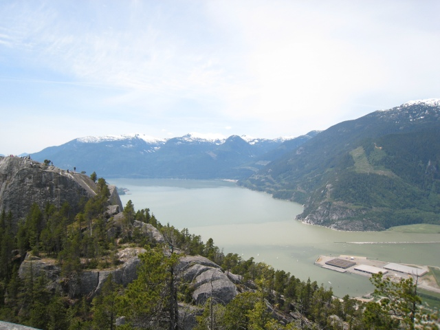 View of Howe Sound from Peak 2